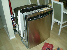 Stainless Steel Dishwasher Install