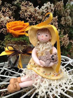 bambola mais giallo