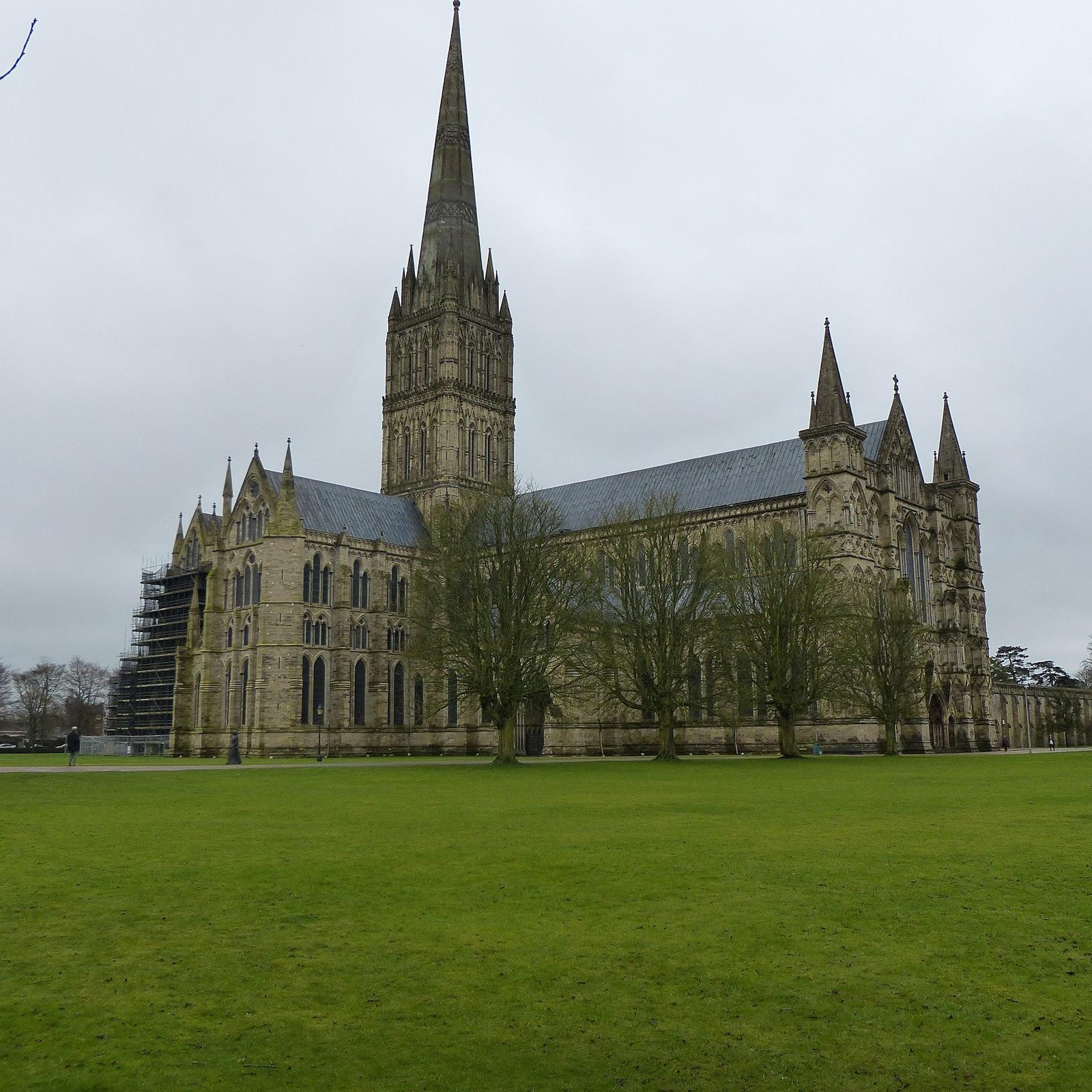 Salisbury cathedral ken follett