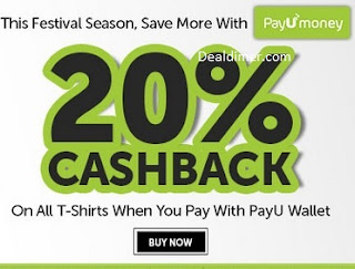 Freecultr 20% Cashback Using Payumoney