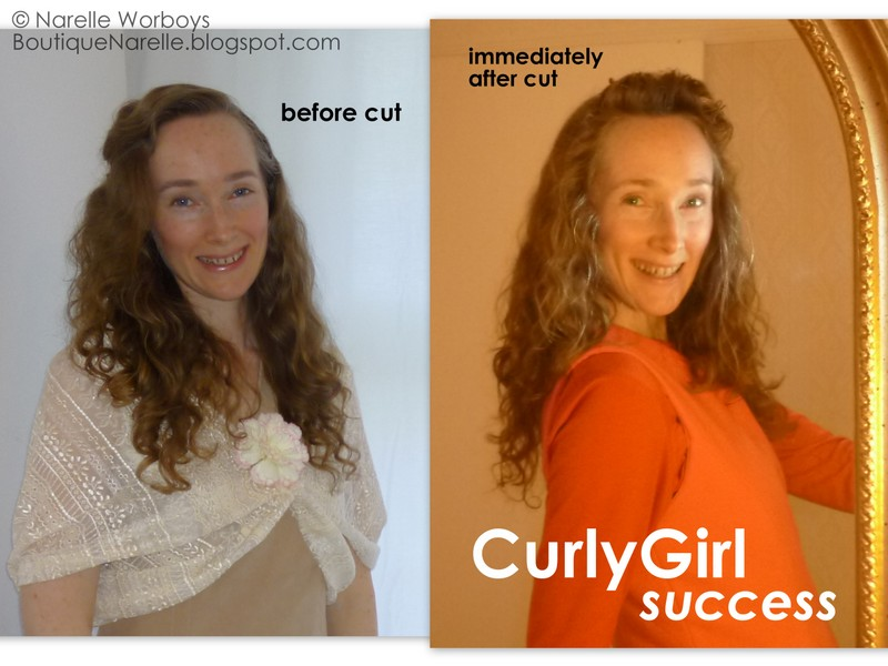 How to cut my own curly hair