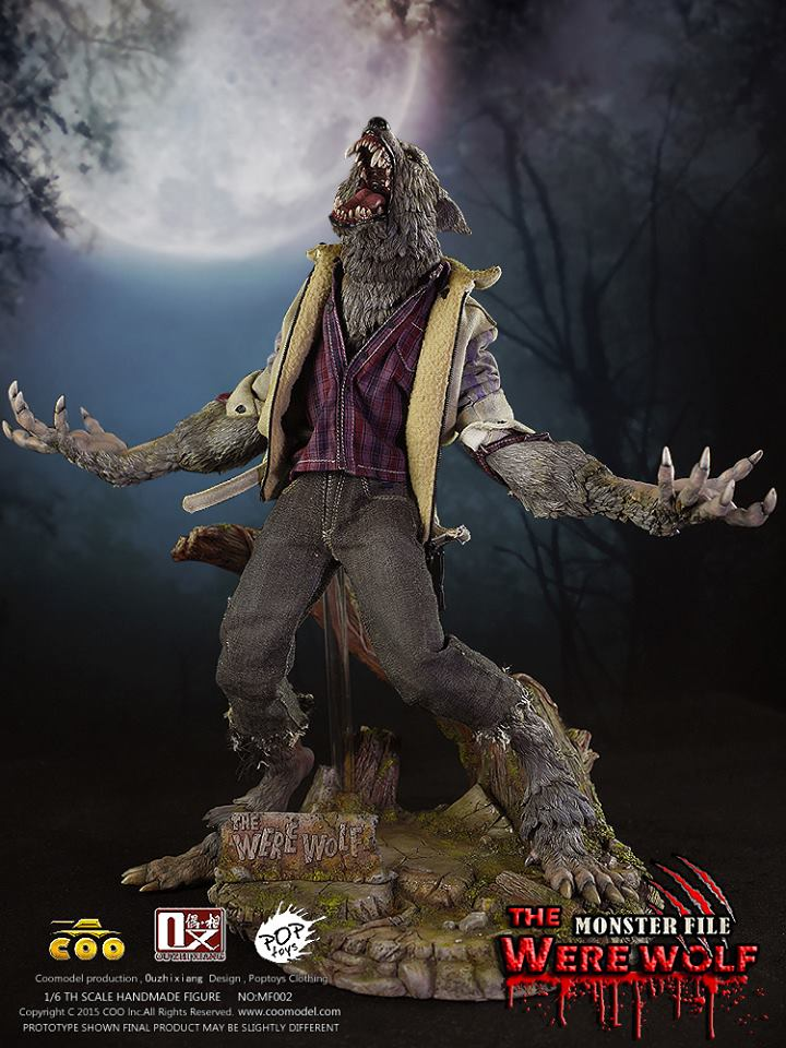 COOMODEL X OUZHIXIANG - Monster File Series - The Were Wolf E4