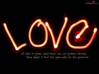 Cinta Itu Buta Tapi Bukan Membabi Buta