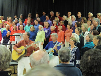 Five Peace Choruses sing at Ashland Middle School