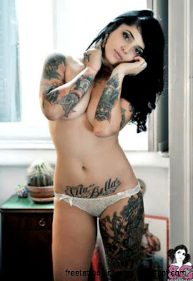 y Tatooed Girls on Twitter quotRadeo Suicide tattoo girl http