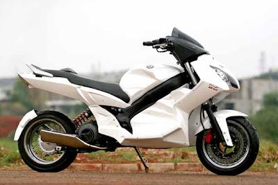 Photo Modifikasi Yamaha Nouvo