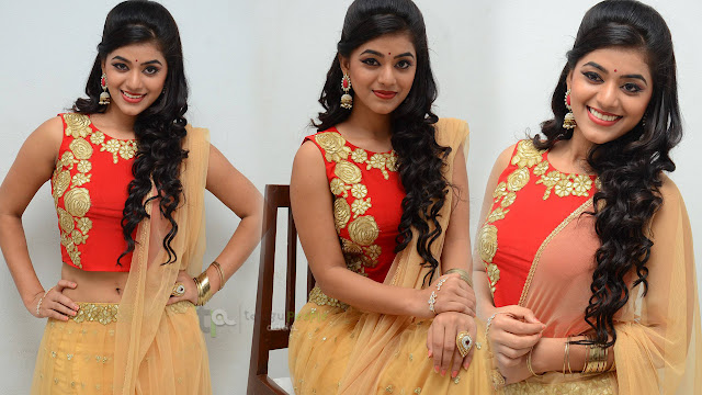 Yamini Bhaskar Latest Photos At Keechaka Audio Launch
