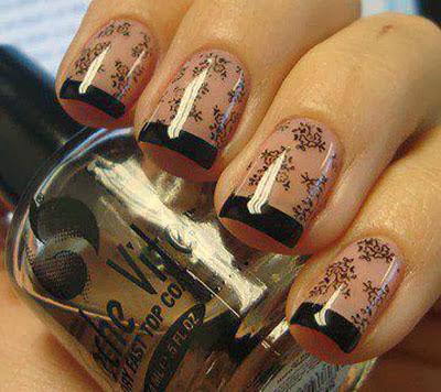 nail art tattoo design