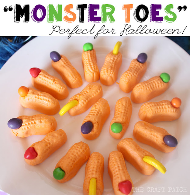 Halloween Recipes - These Halloween Monster Treats are easy to make and super fun to eat. Pin it now and make them later!