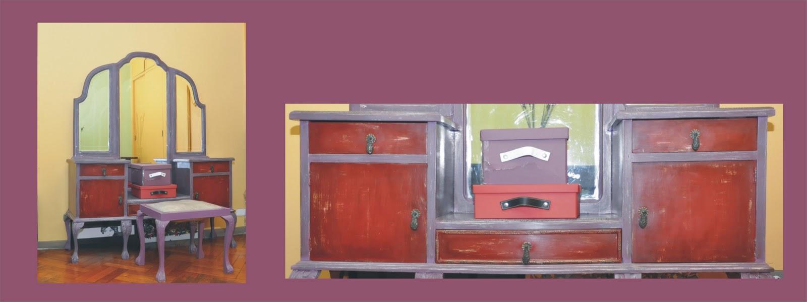 Quinta casa muebles pintados Muebles antiguos pintados a mano