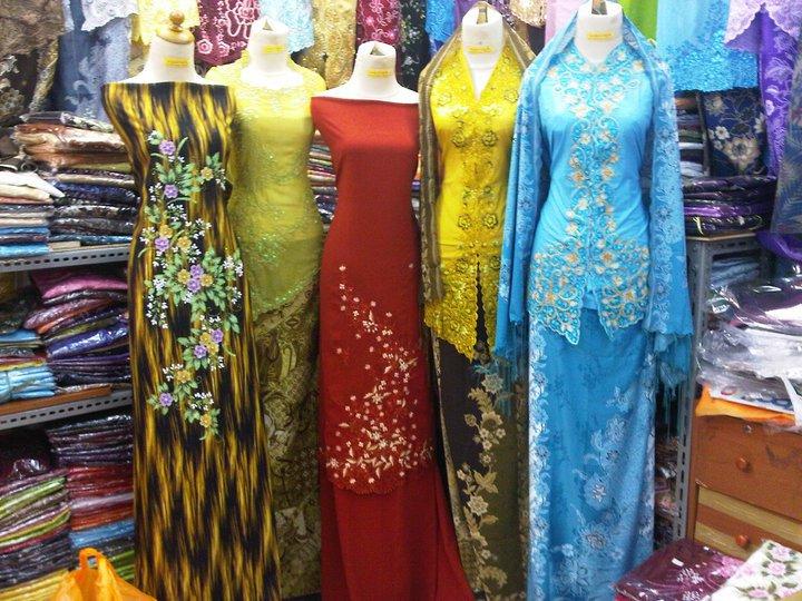 Fesyen kain baju kurung moden dan kebaya sekadar catatan Baju gamis pasar baru bandung