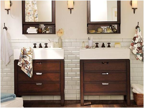 bring out the classics the traditional white subway tile is nostalgic as it is gorgeous whether you use it in your bathroom to evoke clean and crisp - Bathroom Subway Tile Backsplash