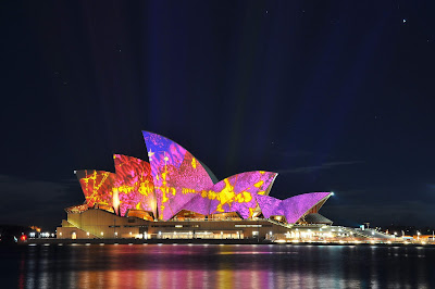 Best Color Full Sydney Opera House In The Nights