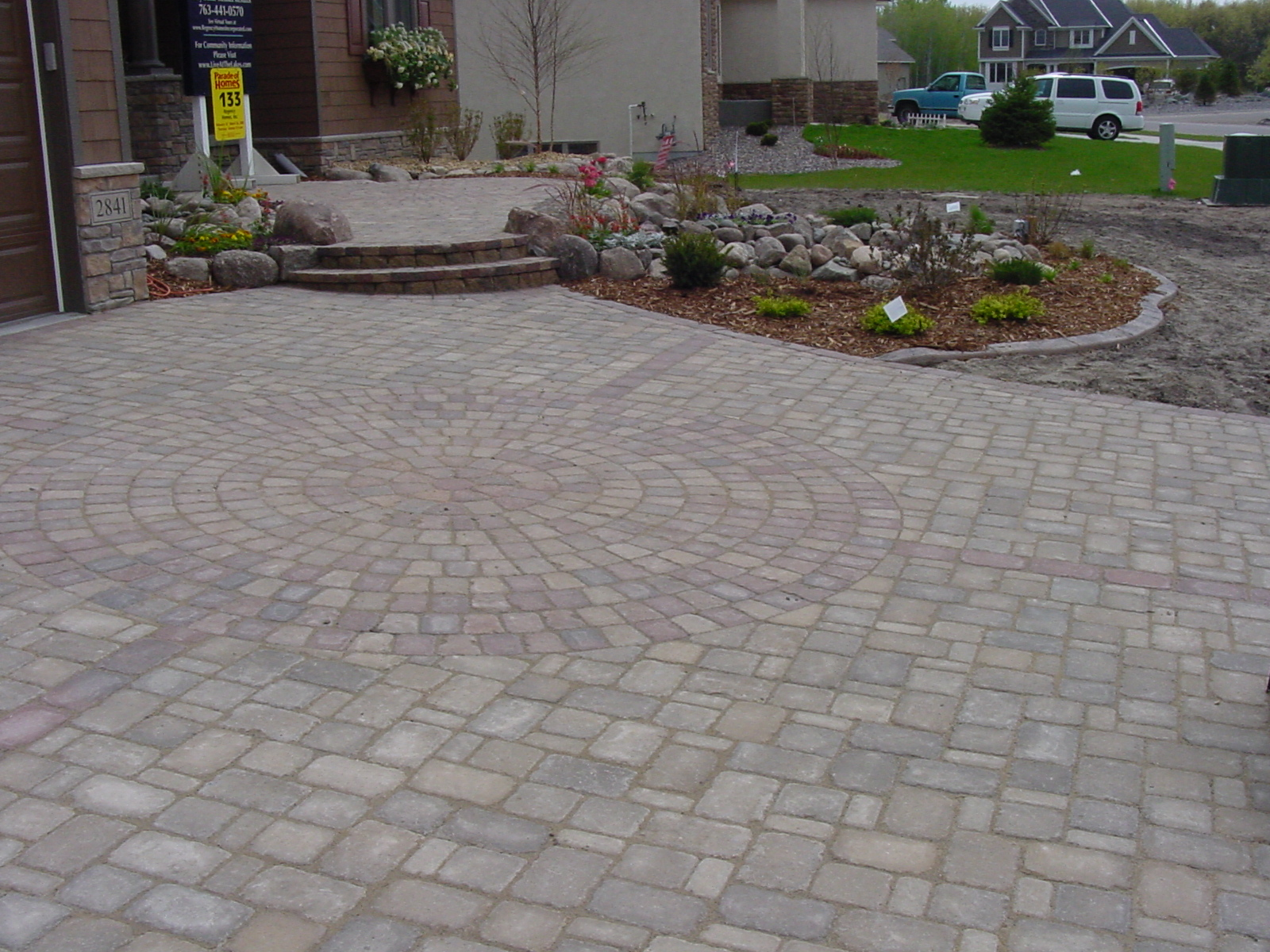 patio design and domestic fixtures