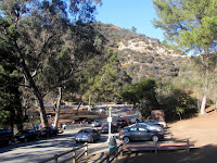 Trail crossing at Western Canyon Road, Griffith Park