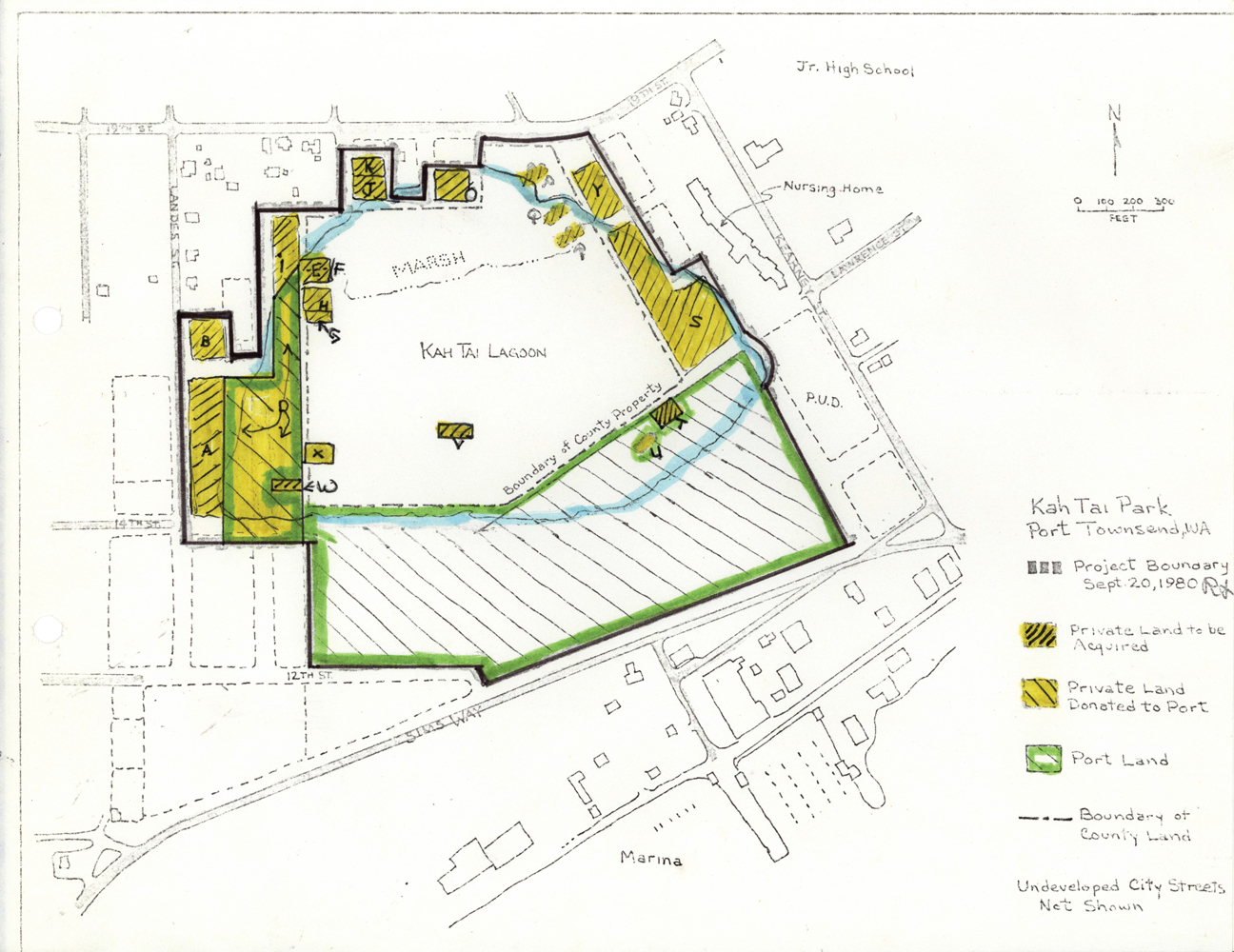 Kah tai lagoon nature park kah tai lagoon nature park for Find plot plan online