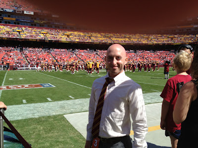 Washington Redskins Honorary Captain for coin toss