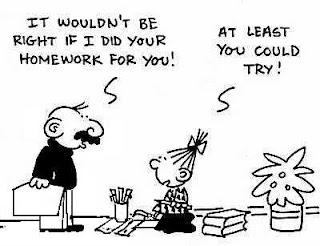 Homework Humor
