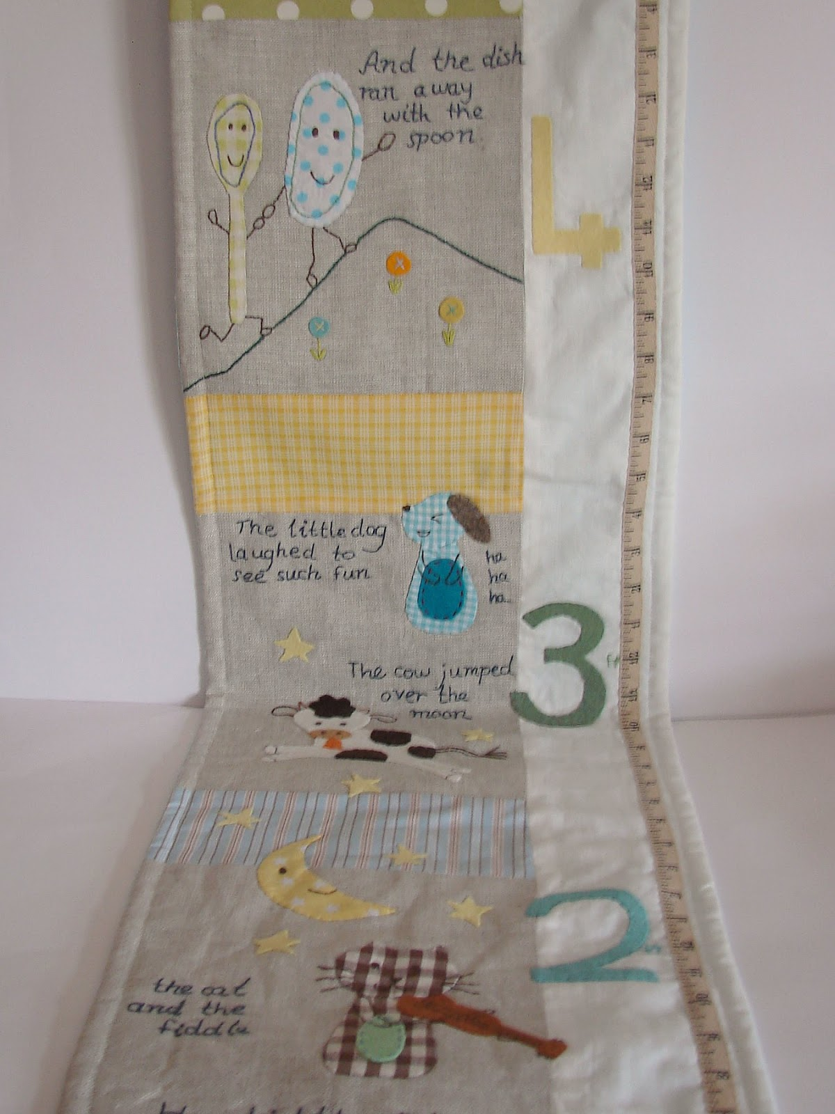 Finally Im Blogging The Other 2 Nursery Rhyme Growth Charts I Made Mary Had A Little Lamb And Hey Diddle