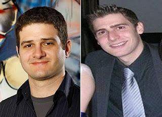 Dustin Moskovitz y Eduardo Saverin, jovenes millonarios