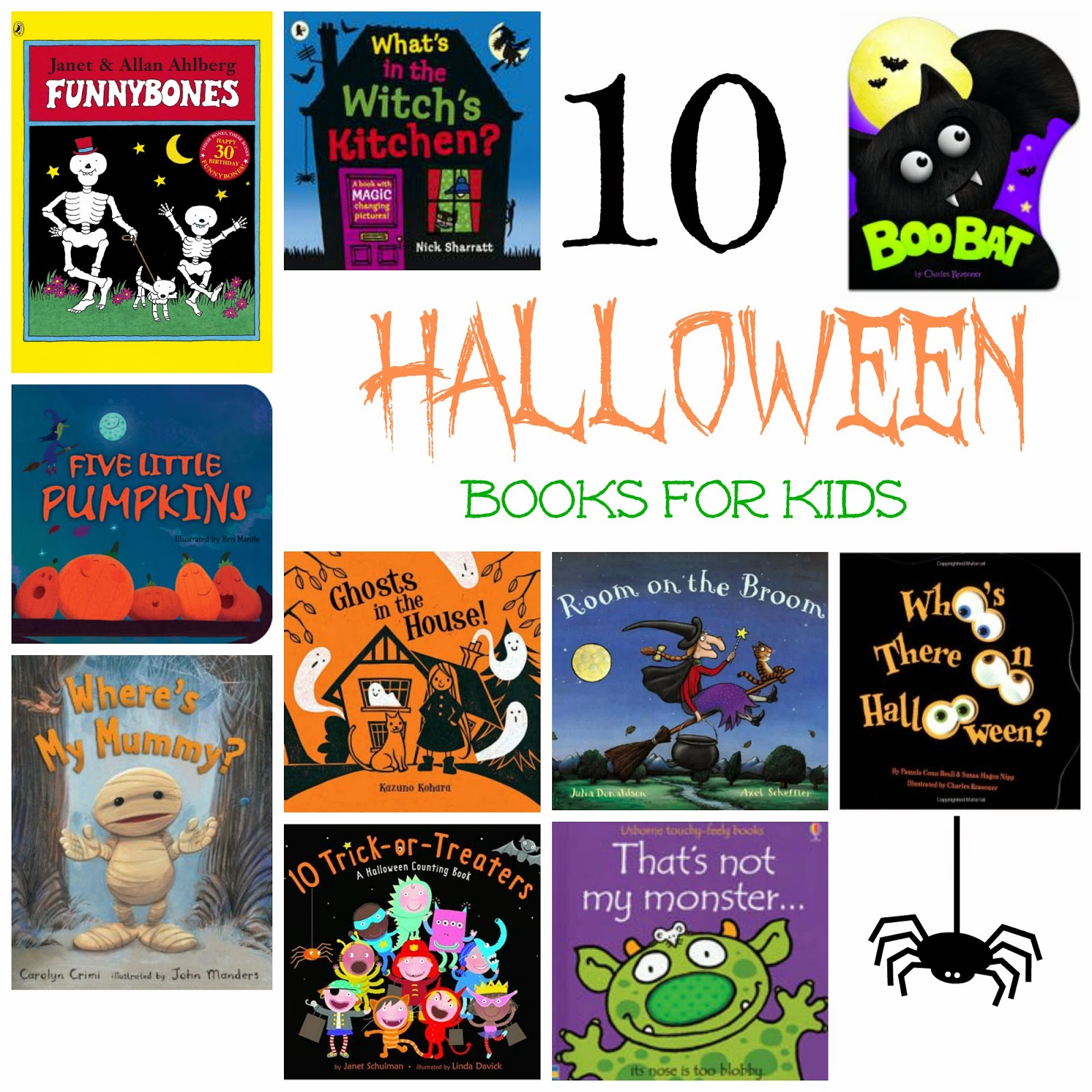 10 Classic Spook-tacular Halloween books for kids