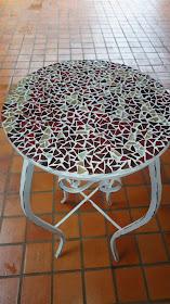 Mesa pequena mosaico