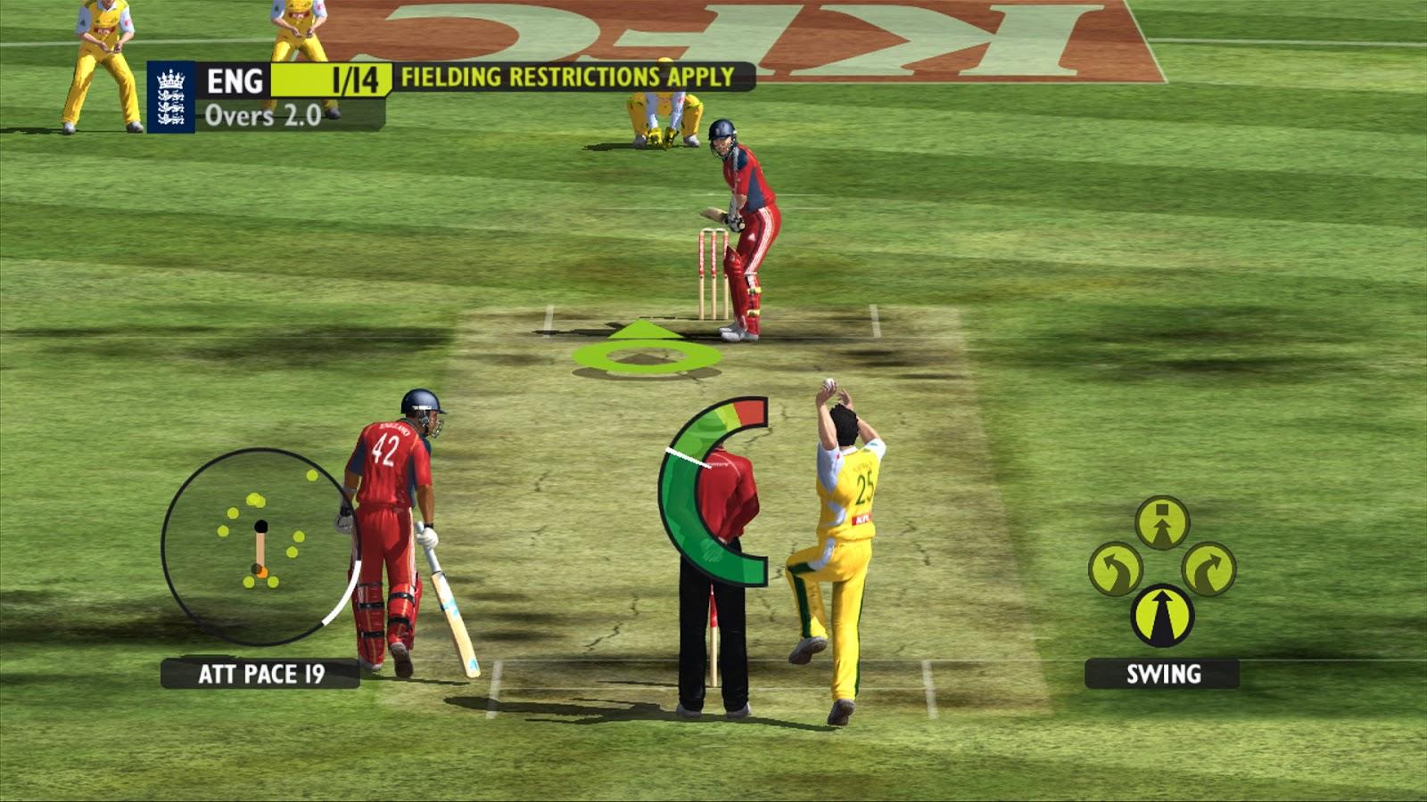 cricket play games