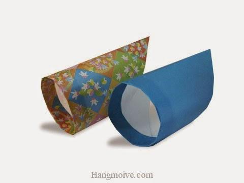 Cách gấp, xếp vòng tròn bay bằng giấy origami - Video hướng dẫn xếp hình máy bay - How to fold a Circle plane
