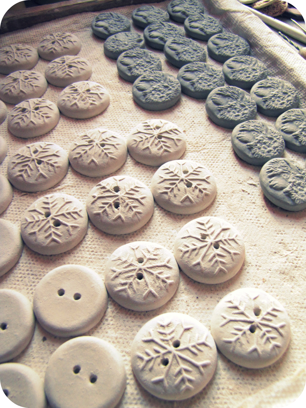 Creative Impressions In Clay :ClayButtons.com :Handmade