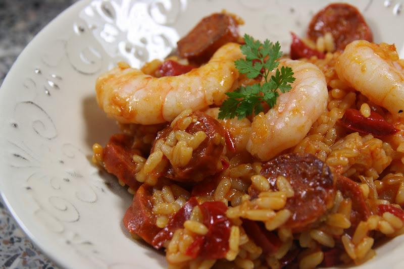 Jambalaya au chorizo parmesan et paprika for Plat simple et convivial