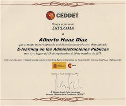 E-learning en Administración Pública