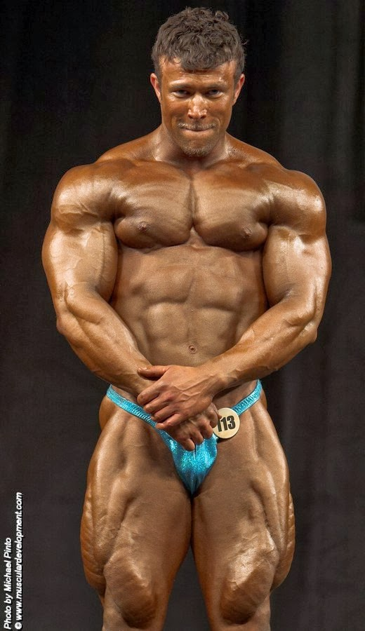 Former Emerald Cup Overall Champion, IFBB Pro Nate D'Tracy