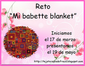 "RETO ""MI BABETTE BLANKET"" CUMPLIDO!"