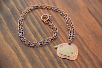 Whale-of-a-time Copper-tone Metal Necklace by hotGlued