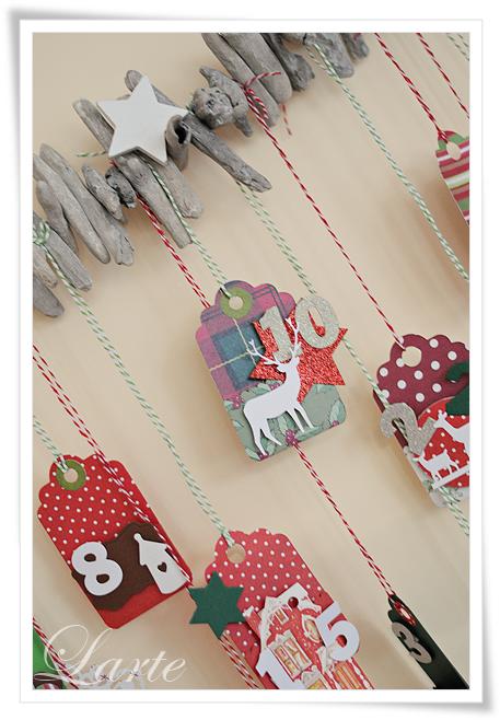 kalendarz adwentowy, adventskalender, christmascalendar, handmade, zima, swieta, Boże Narodzenie, adwent