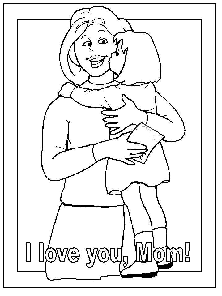 mother coloring pages printable - free coloring pages mothers day coloring printables