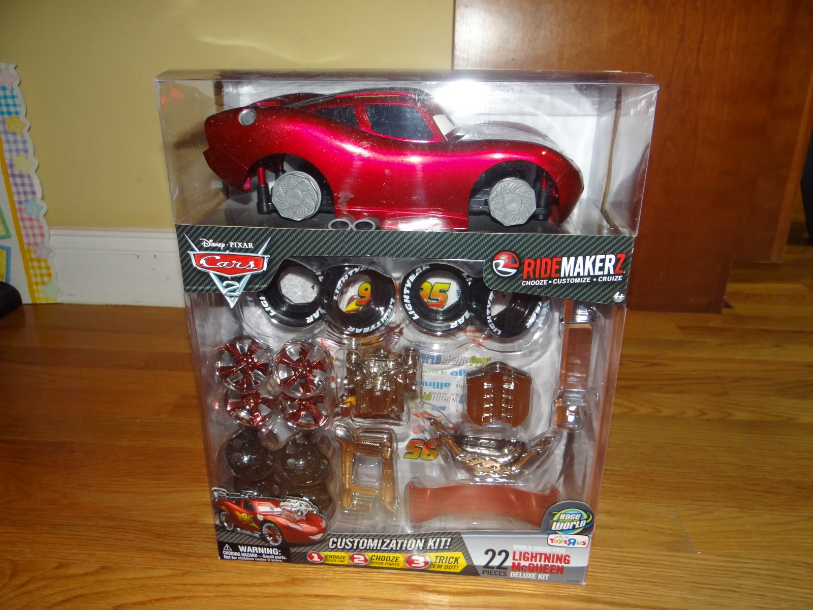 Disney Pixar Cars 2 Ridemarkerz Make your own car Review and
