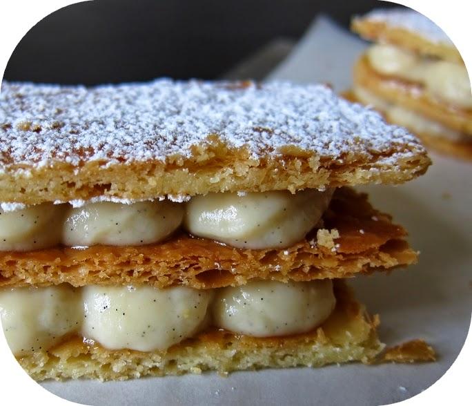 Recettes Desserts-Mille-feuilles