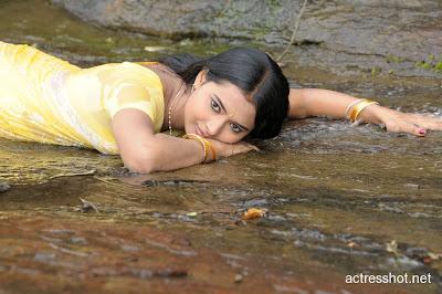 Anjali Joyi Hot In Sari