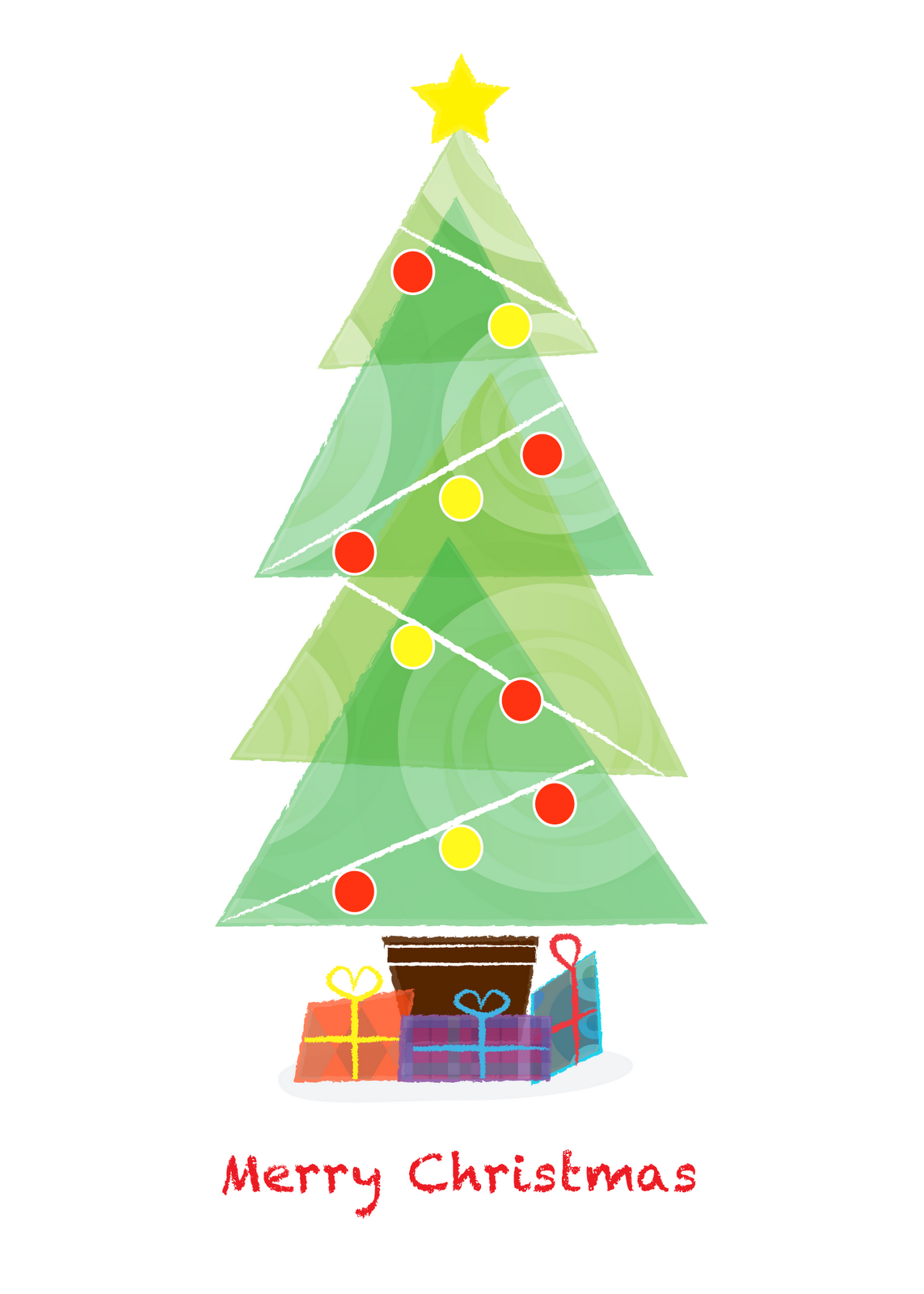 Creative pinch christmas cards on zazzle for Christmas tree cards to make