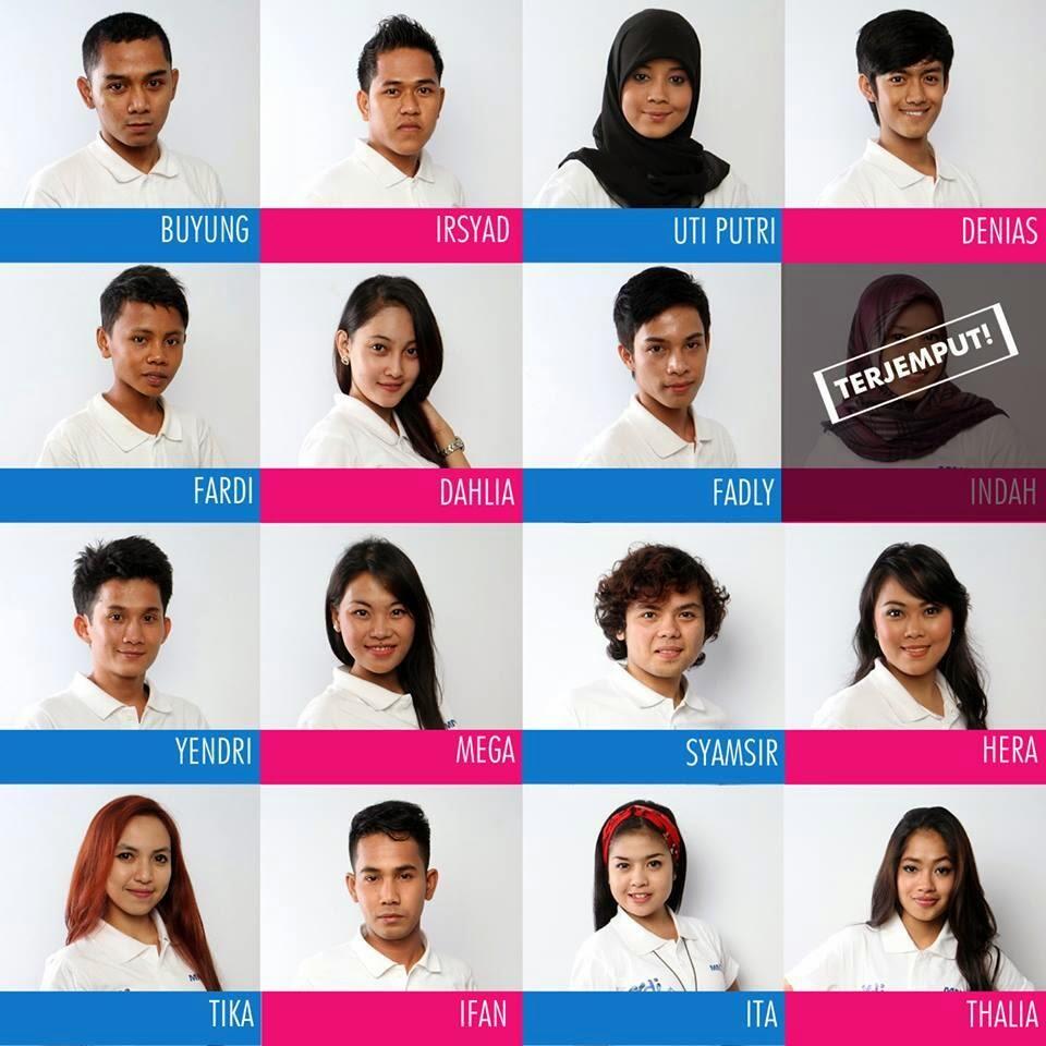 Daftar nama kontestan yang terjemput di KDI 2014