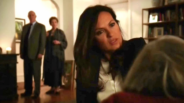 Later, Benson and Cragen arrive at Alice's apartment with the ...
