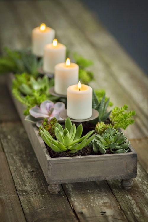 20 idee per candele centrotavola e non