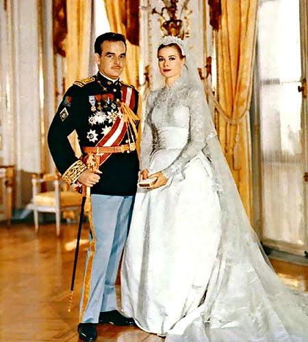 Сватбата на Грейс Кели и княза на Монако Рение III