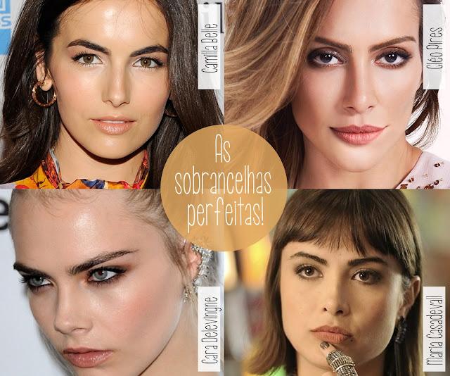 Cara Delevingne, Cléo Pires, Camilla Belle, Maria Casadavall, inspiração, beleza, rosto