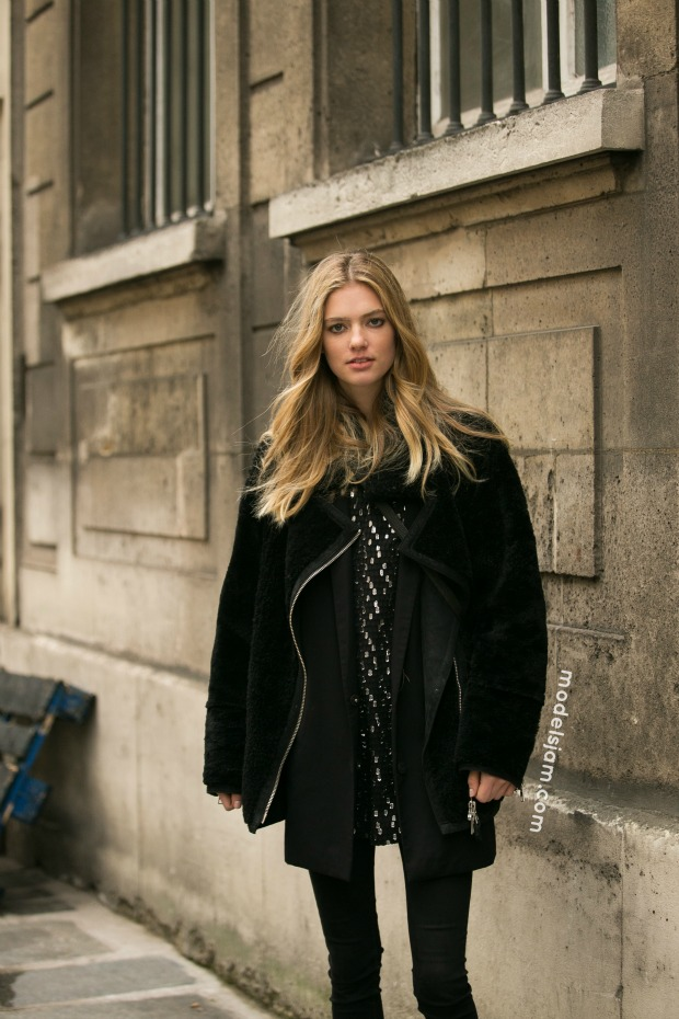 Emmy Rappe, Paris, January 2016