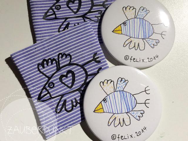 Taschenspiegel mit Hülle, DIY, Kids