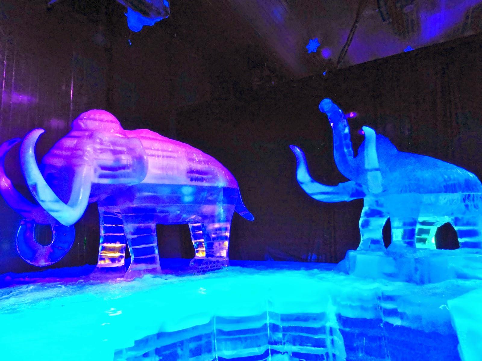 Ice Sculptures Mammoth The Venetian Macao