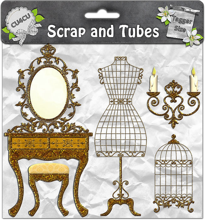 Gold Vintage Accessories (CU4CU) .Gold+Vintage+Accessories_Preview_Scrap+and+Tubes