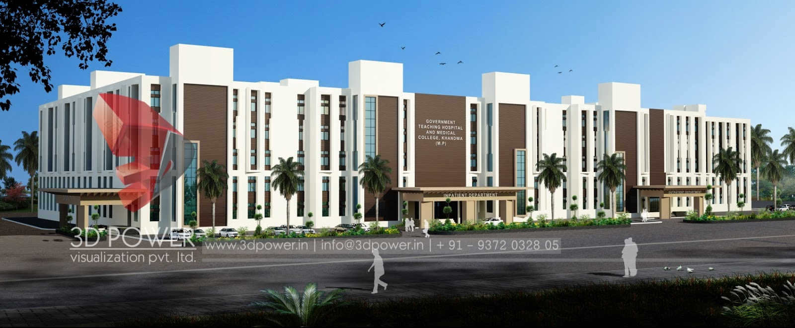 Home Design 3d Rendering Services on Medical Office Building Floor Plans